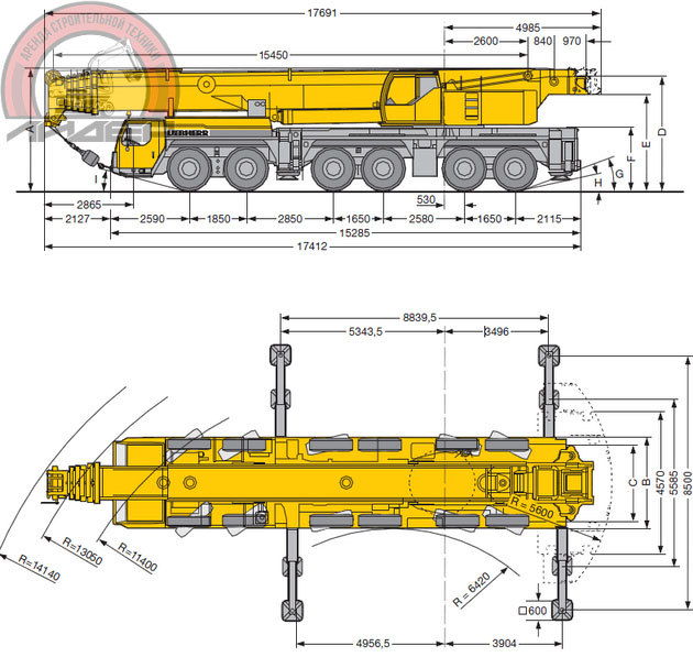 LTM1250Габ