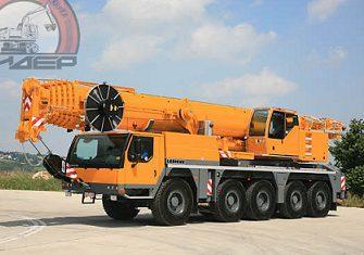 Аренда автокрана 120 тонн Liebherr LTM-1120